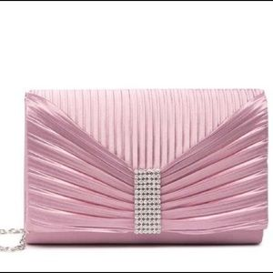 NWT Lilac Pink Strap Clutch by Jessica Mcl…